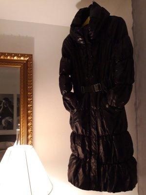 H&M Abrigo acolchado negro