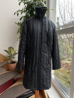 Cappotto trapuntato nero
