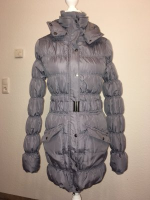 Takko Fashion Quilted Coat grey-grey violet