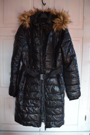 Esmara Abrigo acolchado negro-marrón arena Poliéster