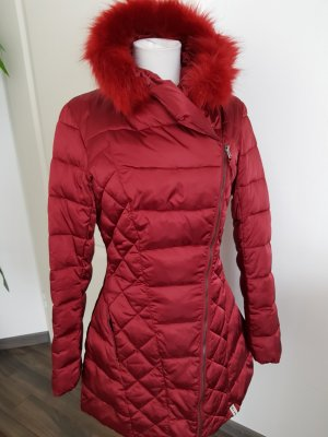 Rinascimento Manteau matelassé rouge foncé