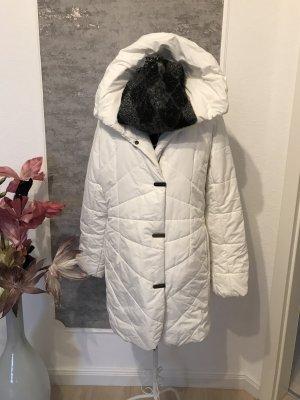 Creenstone Abrigo acolchado blanco puro
