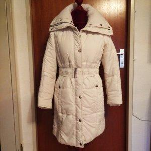 Jessica Pikowany płaszcz biały