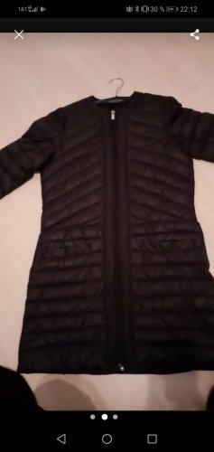 Amisu Quilted Coat black