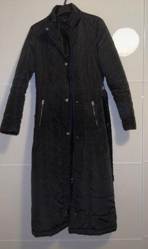Vintage Quilted Coat black
