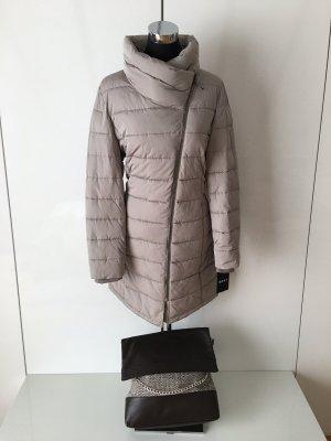 DKNY Cappotto trapuntato marrone-grigio