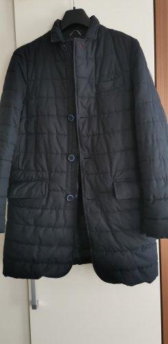 Quilted Coat dark blue