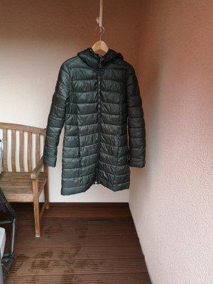 s.Oliver Quilted Coat dark green polyester