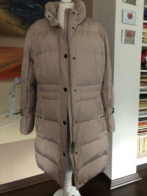 Concept K Pikowany płaszcz jasnobeżowy