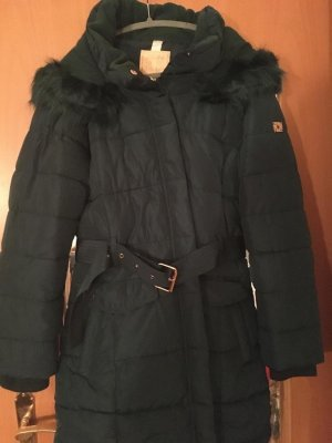 Zabaione Quilted Coat petrol