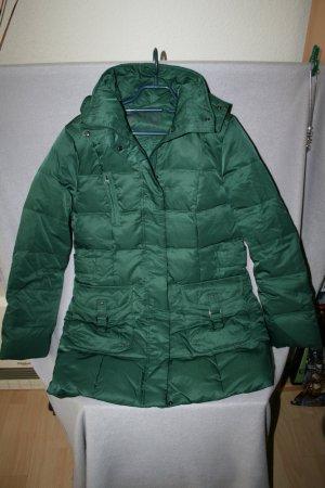 Biaggini Hooded Coat forest green mixture fibre