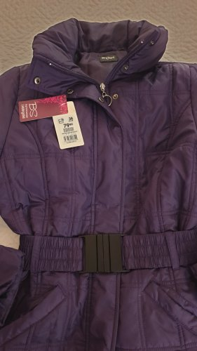 My Own Manteau matelassé violet