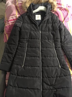 QS by s.Oliver Quilted Coat multicolored