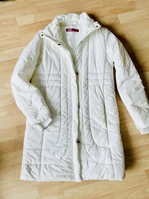 QS Style Quilted Coat white