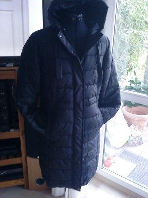 Blue Motion Gewatteerde jas zwart Polyester