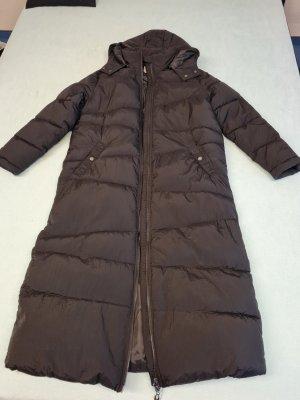 Cream Manteau d'hiver noir nylon