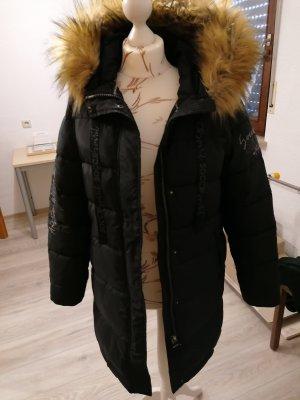 Soccx Abrigo acolchado negro