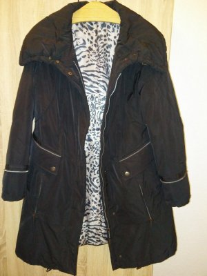 Adagio Quilted Coat black mixture fibre