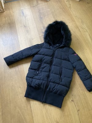 Armani Exchange Quilted Coat black