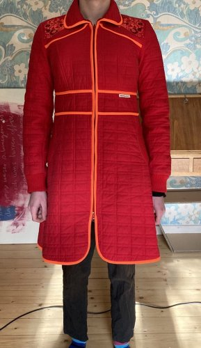 Blutsschwester Quilted Coat multicolored cotton
