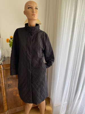 Burberry Quilted Coat black polyester