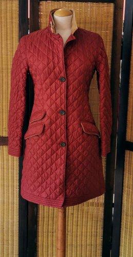 Dantendorfer Pikowany płaszcz głęboka czerwień-rudy