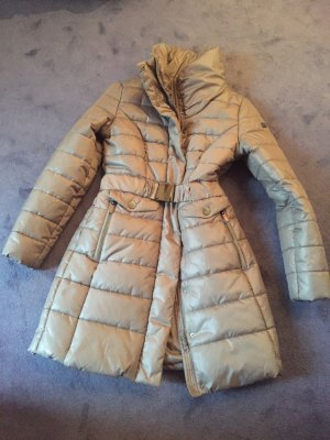 Mexx Quilted Coat grey brown