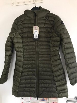 Napapijri Quilted Coat khaki-green grey