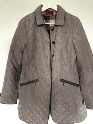 Change by White Label Cappotto trapuntato marrone-grigio