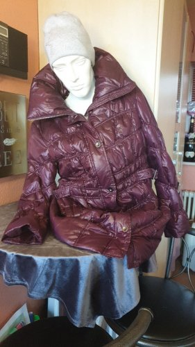 Canda Quilted Coat blackberry-red