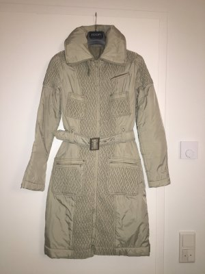 Stefanel Quilted Coat oatmeal