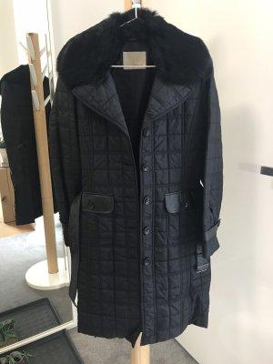 Apriori Gewatteerde jas zwart