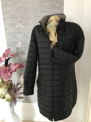 Alba Moda Quilted Coat black-grey