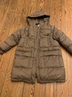 H&M Gewatteerde jas camel