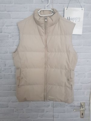 Champion Quilted Gilet natural white