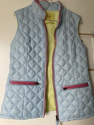 Witty Knitters Down Vest multicolored