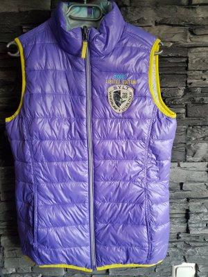 Soccx Gilet matelassé violet