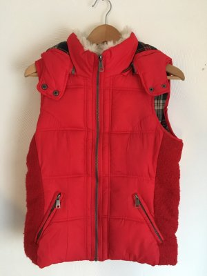 Vintage Boutique Collection Quilted Gilet multicolored polyester