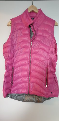 Cecil Quilted Gilet grey-pink