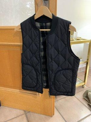 H&M Gewatteerd vest zwart