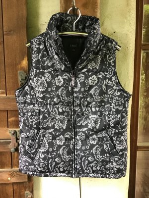 X-Mail Quilted Gilet light grey-anthracite