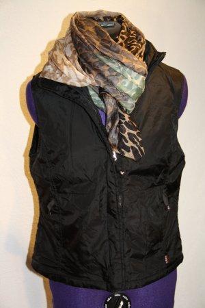 H&M L.O.G.G. Gewatteerd vest zwart Polyester