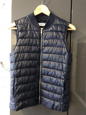 Mango casual Quilted Gilet blue