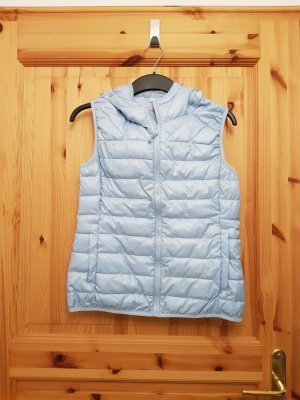 Only Quilted Gilet light blue