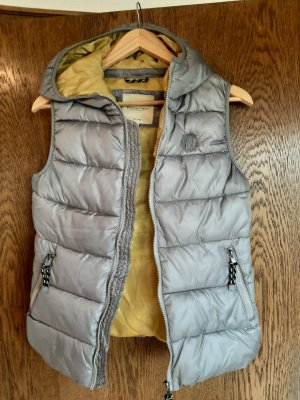 Broadway Quilted Gilet grey