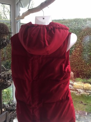 Street One Quilted Gilet red