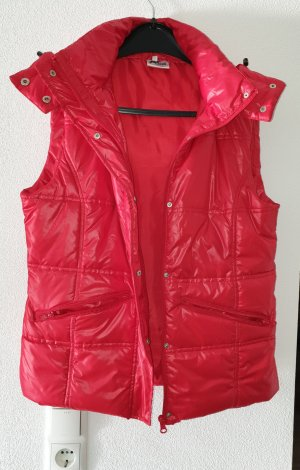 no name Quilted Gilet red polyester