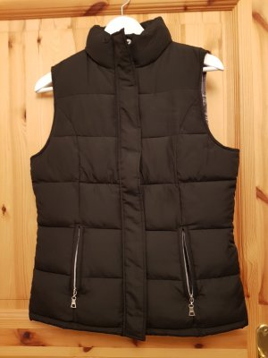 Gina Benotti Quilted Gilet black