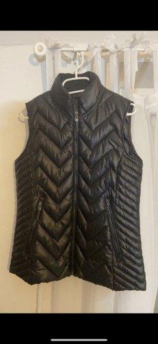 Mango Quilted Jacket black