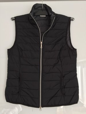 Street One Quilted Gilet black polyester